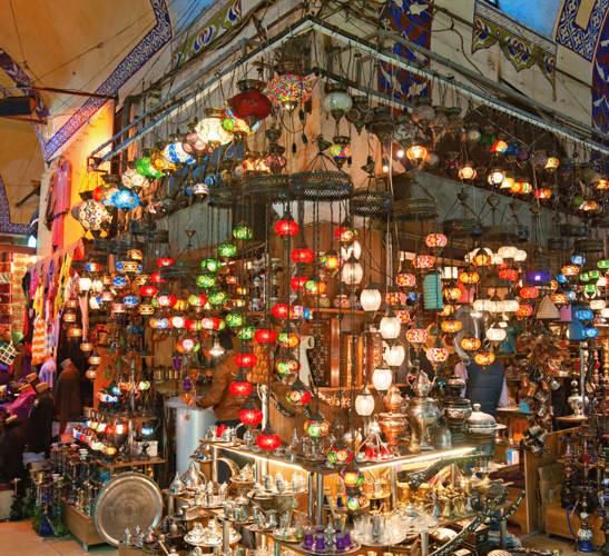 بازار بزرگ Grand bazar Kapalıçarşı استانبولعجیب ترین تجربه ی خرید