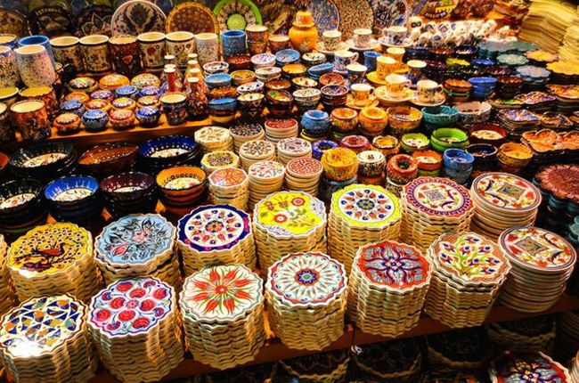 بازار مصری ها در استانبول