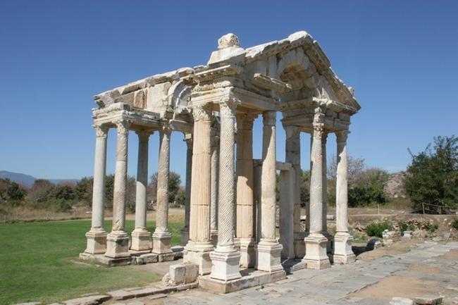 جزیره ساموس کوش آداسیتپهای تاریخی مربوط به یونان باستان