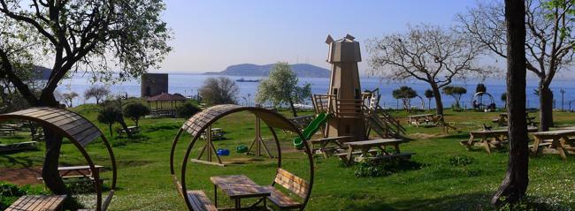 جزیره هیبلی آدا Heybeliada استانبولدومین جزیره بزرگ سواحل زیبای استانبول