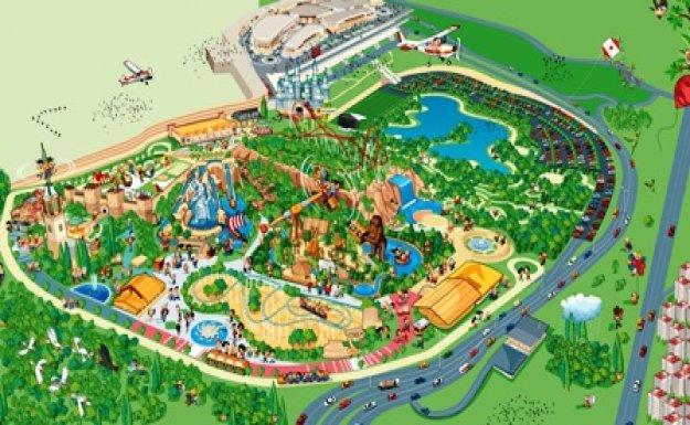 شهر بازی بزرگ آنکارا (آنکا پارک AnkaPark) از مکانهایی که حتماً در تور آنکارا باید بازدید کنید