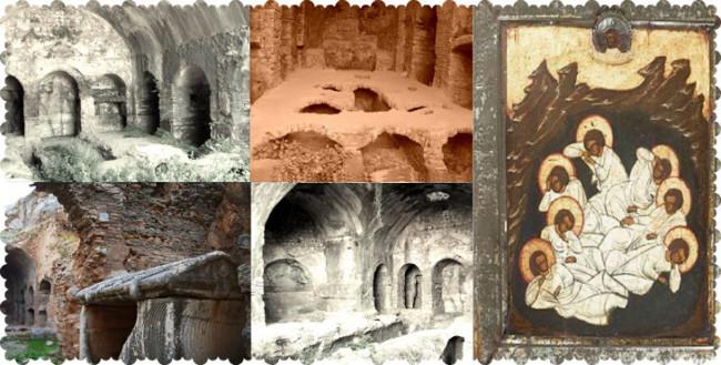 غار اصحاب کهف کوش آداسی مکانی تاریخی و زیبا برای گشت و گذار
