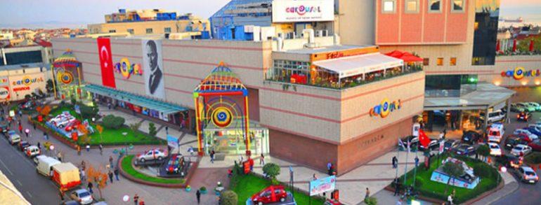 مرکز خرید کروسل carousel shopping mall استانبولیکی از قدیمی ترین مراکز خرید در استانبول