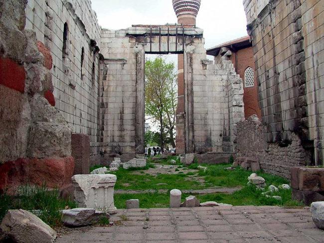 همه چیز درباره معبدآگوستوس و روم در آنکارا