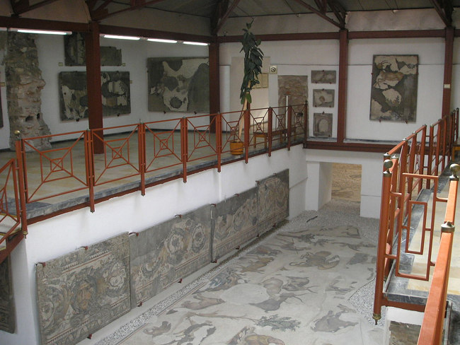 موزه موزاییک استانبولمکانی عالی برای دیدن موزاییک هایی زیبا
