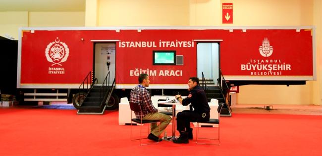 آشنایی با تجهیزات ایمنی و آتش نشانی درنمایشگاه بین المللی آتش نشانی و امداد ISAF استانبول