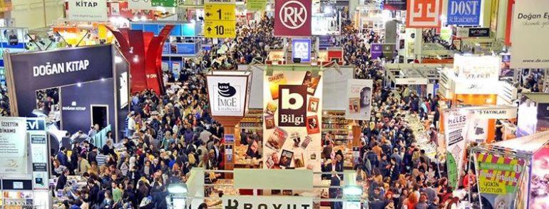 نمایشگاه بینالمللی کتاب استانبول مکانی برای آشنایی با فرهنگ و بزرگان ادب و فرهیختگان کشور های اروپایی و آسیایی