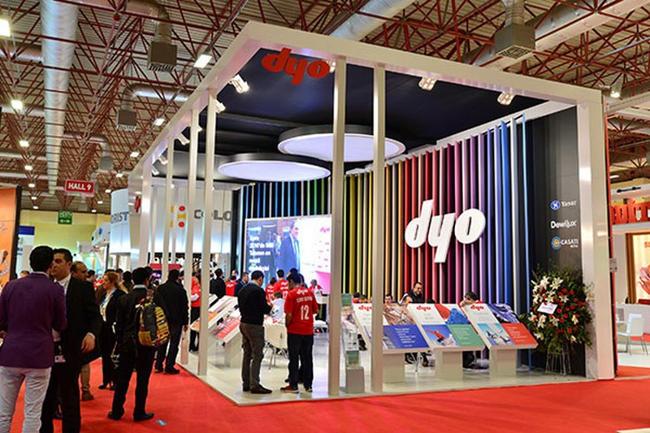 نمایشگاه رنگ و پوشش استانبول