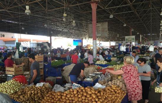 تور آنتالیا _ بازار غذای سرپوشیده آنتالیا