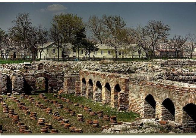 حمام رومی در آنکارا مکانی باستانی مربوط به 17 قرن پیش