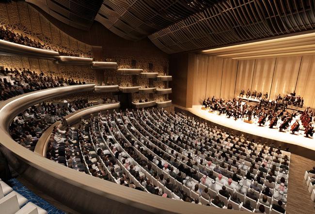 خانه اپرا دوبیDubai Opera House بزرگترین قطب فرهنگی هنری در خاور میانه