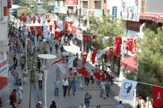 خیابان آتاتورک ازمیر یکی از زیبا ترین خیابان های ازمیر