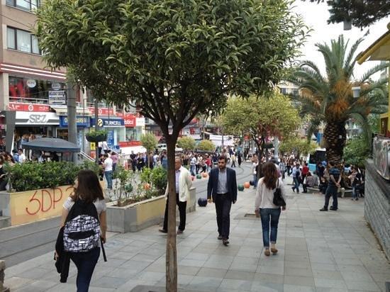 خریدی ارزان و به صرفه در خیابان بهاریه استانبول