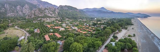 شهر سیرالی، دهکده کوچک در نزدیکی آنتالیا