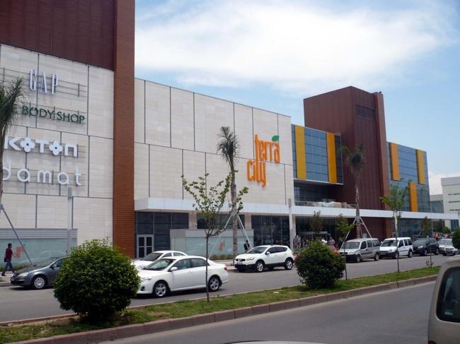 فروشگاه terracity یکی از مکان های خوب برای خرید در آنتالیا