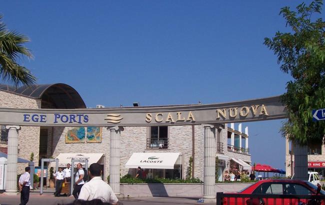 مرکز خرید اسکالا نوا Scala Nuova کوش آداسی مجموعه کامل گردشگری