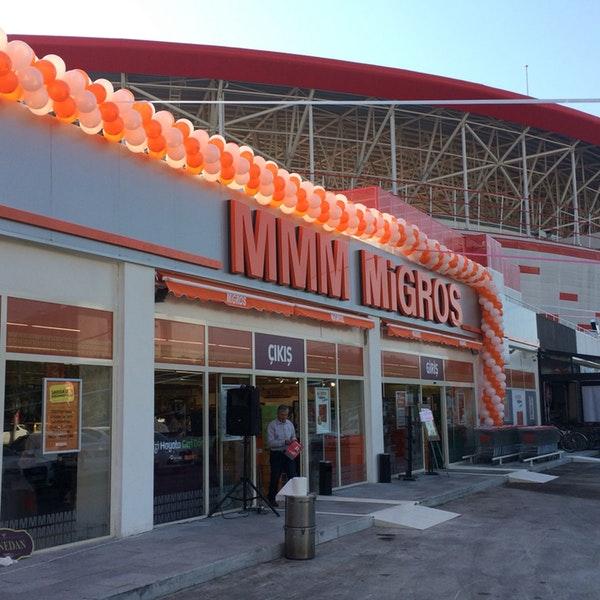 تورآنتالیا- مرکز خرید ام ام ام مایگروسی در شهر آنتالیا