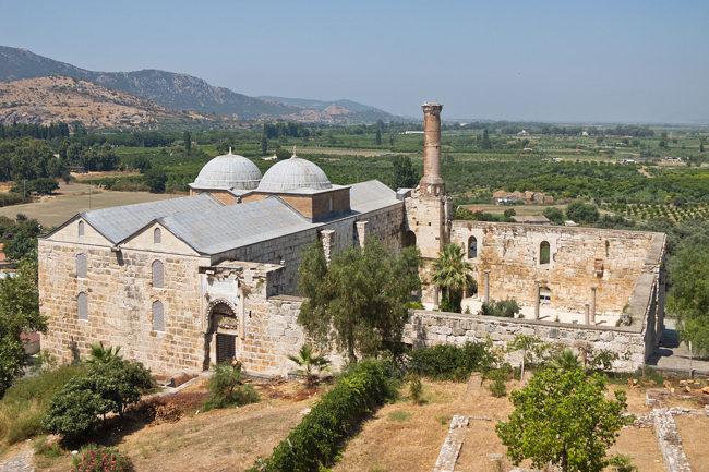 گذری بر تاریخ در مسجد عیسی بیگ کوش آداسی İsa Bey Mosque