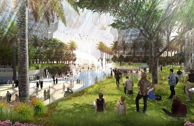 تجربه آرامش در تور دبی در پارک الوصل دبی