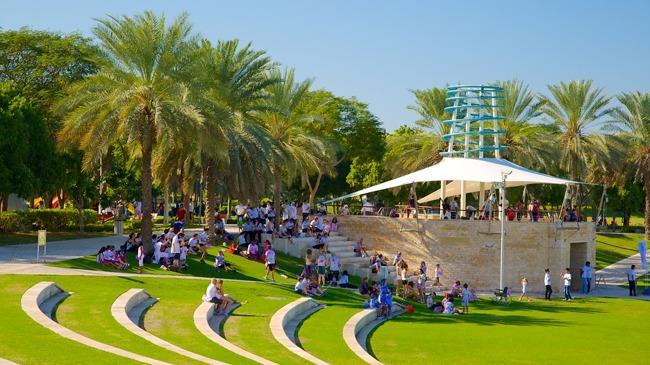 پارک زعبیل Zabeel park از پارک های زیبا در دبی