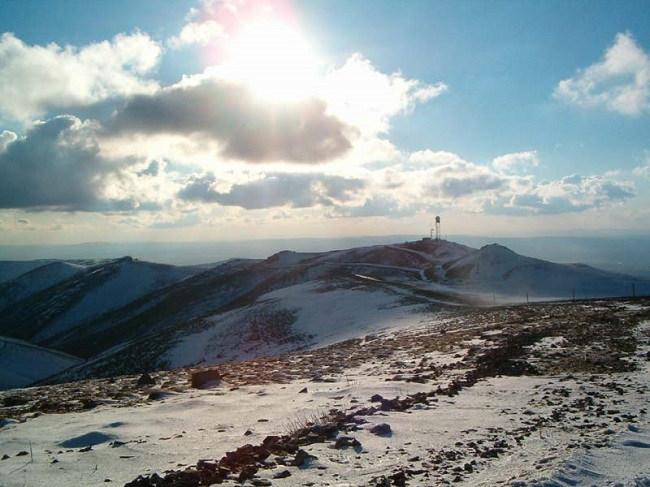 کوه الماداغ elmadağ مکانی توریستی برای گذراندن تفریحات زمستانی