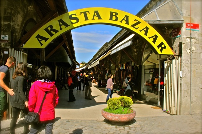بازار آراستا در استانبول یک بازار همه چی تمام