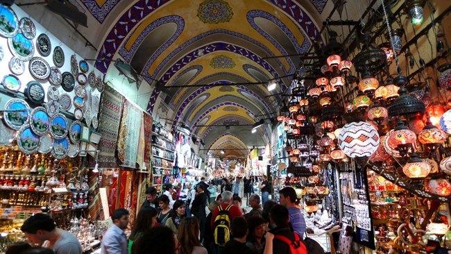 بازار کاپالی چارشی؛ بازار بزرگ استانبول