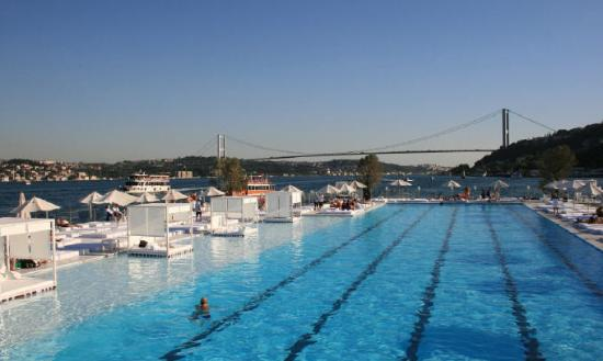 جزیرهی گالاتاسارای استانبول ، جزیرهای کوچک در بسفروس