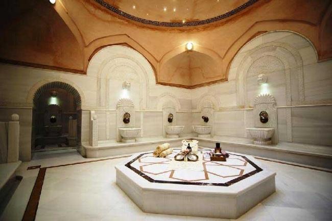 حمام سلیمانیه استانبول جلوهای ویژه و متفاوت در هنر نمایی هنرمندانترکبه شمار میرود