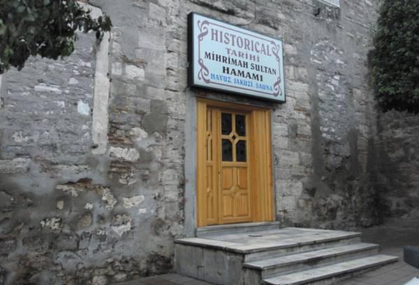 حمام مهری ماه سلطان mihrimah sultan استانبول تجربه ای خاص در عمق جان یک حمام داغ