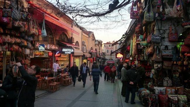 خیابان بشیکتاش استانبول، یکی از زیباترین خیابانهای شهر