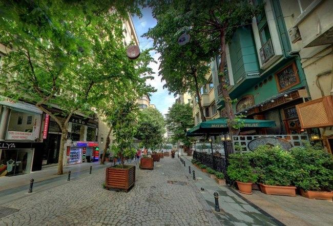 خیابان لامارتین استانبول، نمایی متفاوت و جذاب از خیابانی زیبا و چشم نواز
