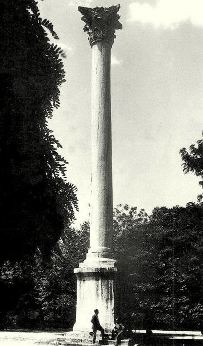 ستون گوتلار استانبول نماد پیروزی در یک جنگ بزرگ