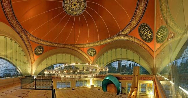 مسجد شاکرین استانبول خلاقیتی زنانه در مدرنترین مسجد جهان اسلام