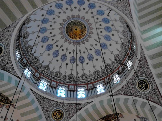مسجد مهری ماه سلطان نماد عشق در شهر استانبول