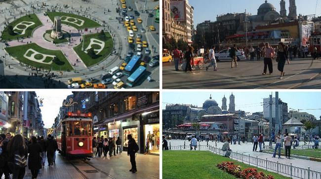 منطقه تقسیم، قلب استانبول