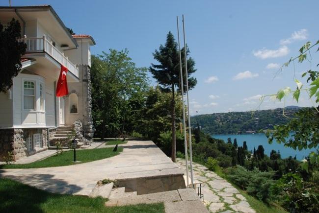 موزه آشیان استانبول، خانهای کوچک از تاریخ ادبیات