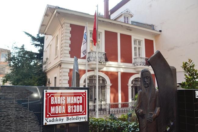 خانه موزه باریش مانچو استانبول یادبودی برای خواننده و موسیقیدان فقید ترک