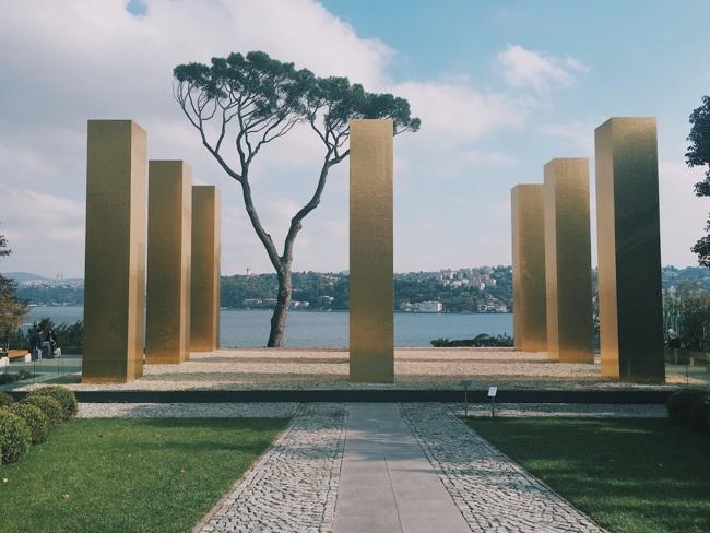 موزه سابانجی استانبول sakip sabanci ویلایی خانوادگی متعلق به یکی از تجار و کارآفرینان بزرگ ترکیه