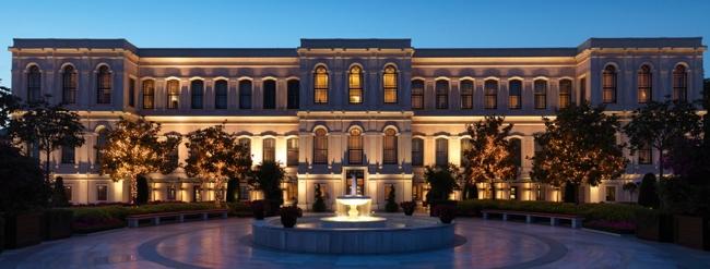 هتل چهارفصل بسفروس استانبول ، هتل کاخی در سواحل آبی بسفر