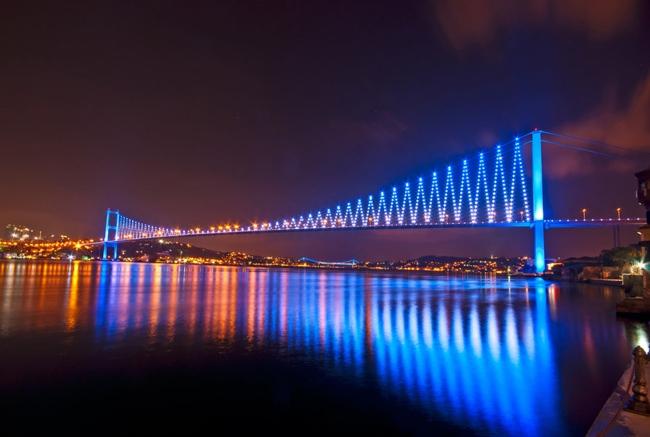 پل بسفر استانبول دستهایی که دو سوی یک شهر را به هم متصل کردهاند
