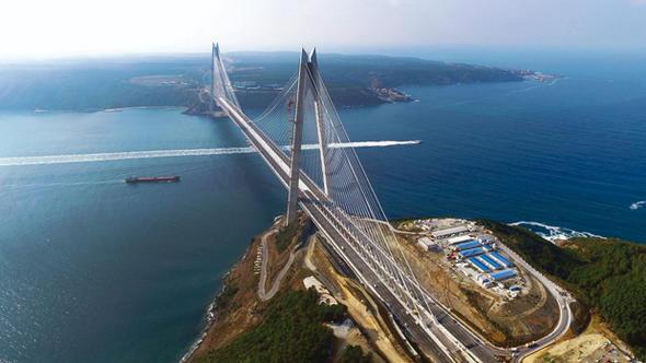 پل سلطان سلیم یاووز استانبول مرزی معلق میان رؤیا و واقعیت غیرقابل وصف
