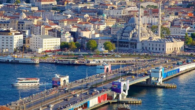 پل گالاتا استانبول galata مکانی برای تماشای زیباترین غروب خورشید استانبول