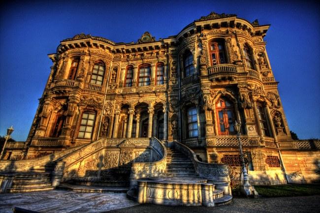 کاخ کوچوک سو استانبول اقامتگاه تابستانی عثمانیان
