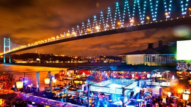 کلوب رینا استانبول محلی برای شادیهای بی تکرار