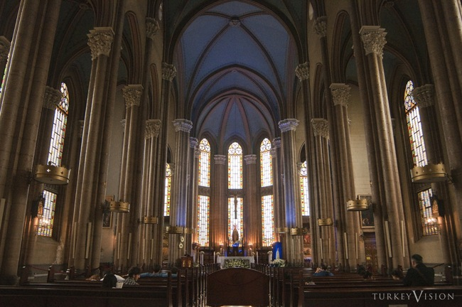 کلیسای سنت آنتونی پادوا در استانبول