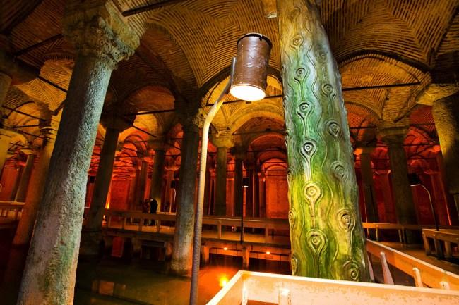 آب انبار یرباتان استانبول، نقطهای آرام و بدون هیاهو عمیقترین مجاری زمین