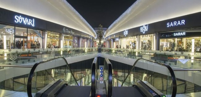 مرکز خرید رینگز استانبول Rings AVM Istanbul، نمایشی از مدرنیته و تجارت ، محیط زیست