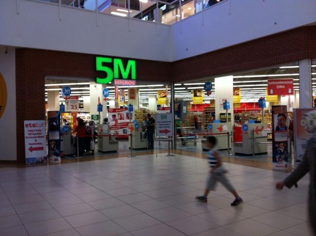 خریدی ارزان در مرکز خرید میگروس استانبول migros avm istanbul