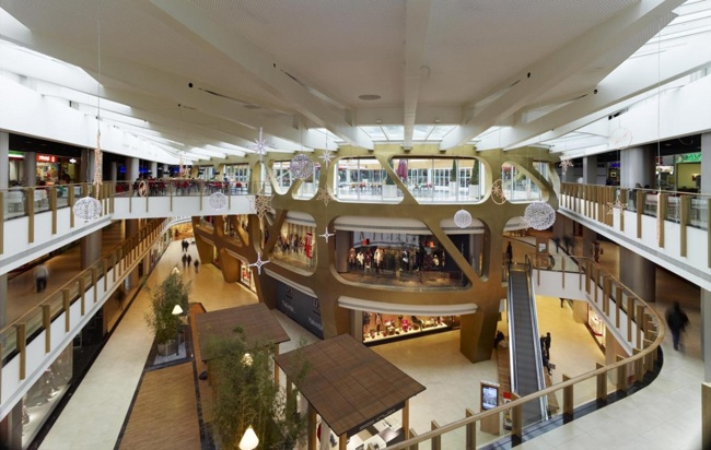 شکوه معماری پستمدرنیسم در مرکز خرید پندوریا استانبول (Pendorya Shopping Center)